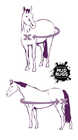 Horse Rug Measurements - Mud Rugs