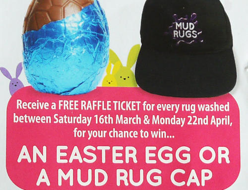 Mud Rugs Easter Raffle 2019